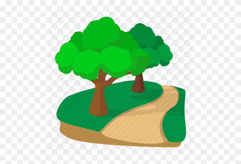 Cartoon, Jogging, Nature, Outdoor, Park, Sport, Track Icon - Park PNG