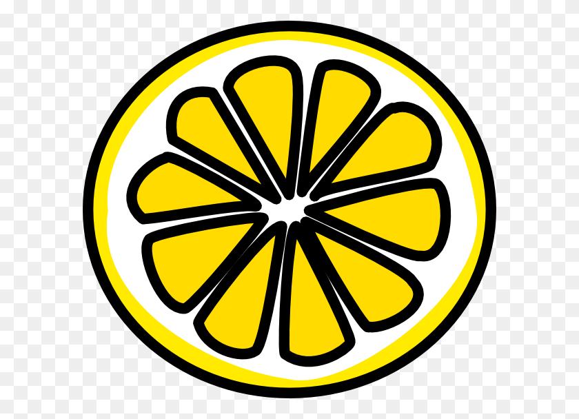 Cartoon Lemon Half Lemon Clip Art Ava - No Fighting Clipart