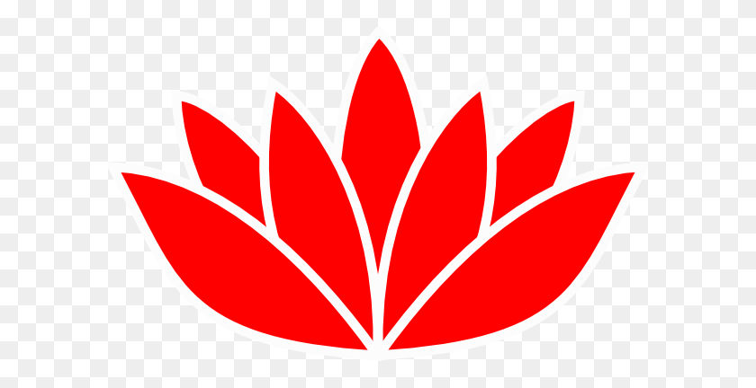 600x372 Cartoon Lotus Flower - Lotus Flower PNG