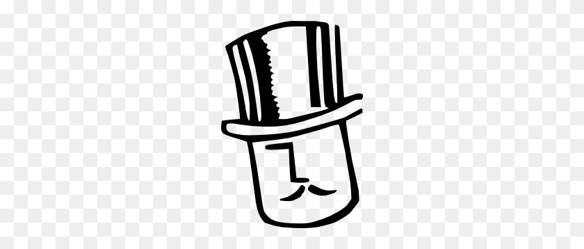 Cartoon Man Wearing Hat Clip Art Free Vector - Graduation