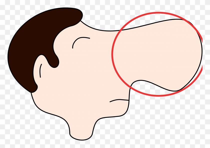 Cartoon Nose Profile Clip Art Clipart - Profile Clipart