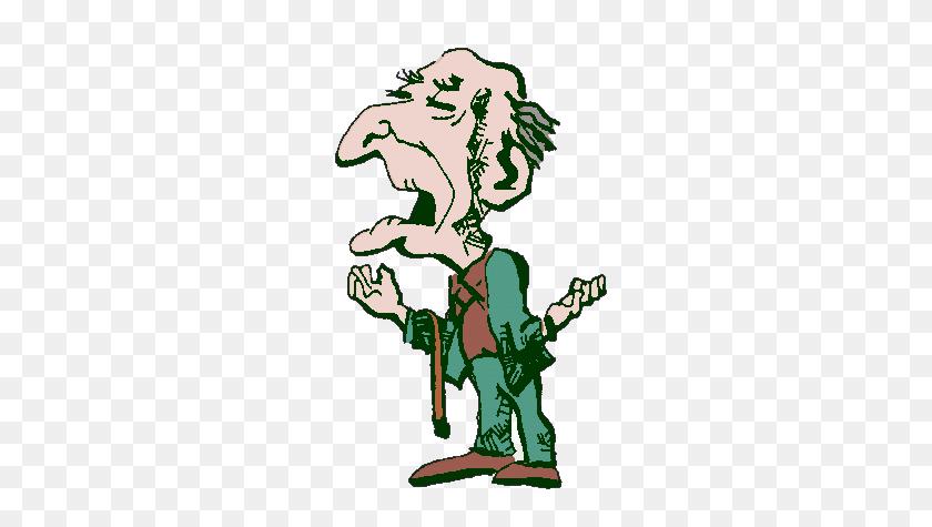 Cartoon Old Man Transparent Png - Old People PNG