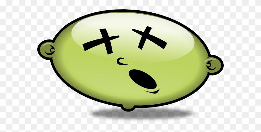 Cartoon Sick Face Clip Art - Cartoon Face PNG