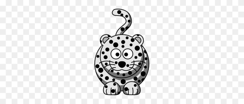 Cartoon Snow Leopard Clip Art - Snow Leopard Clipart