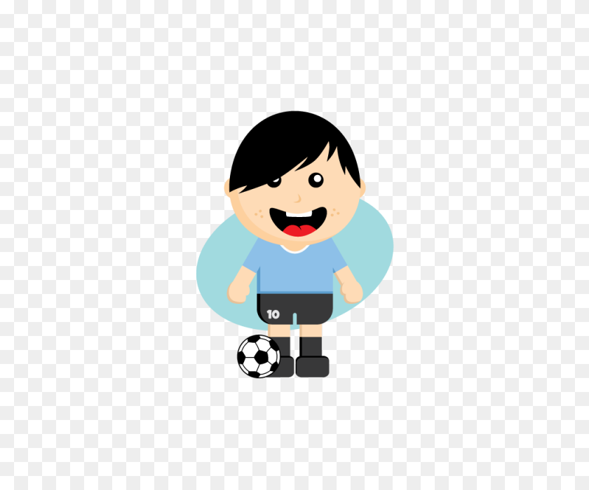 Cartoon Soccer Player, Soccer, Team, National Png And Vector - Soccer Player PNG