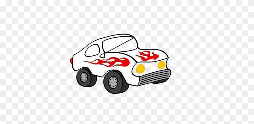 500x350 Cartoon Sporty Car Vector Image - Car Trunk Clipart