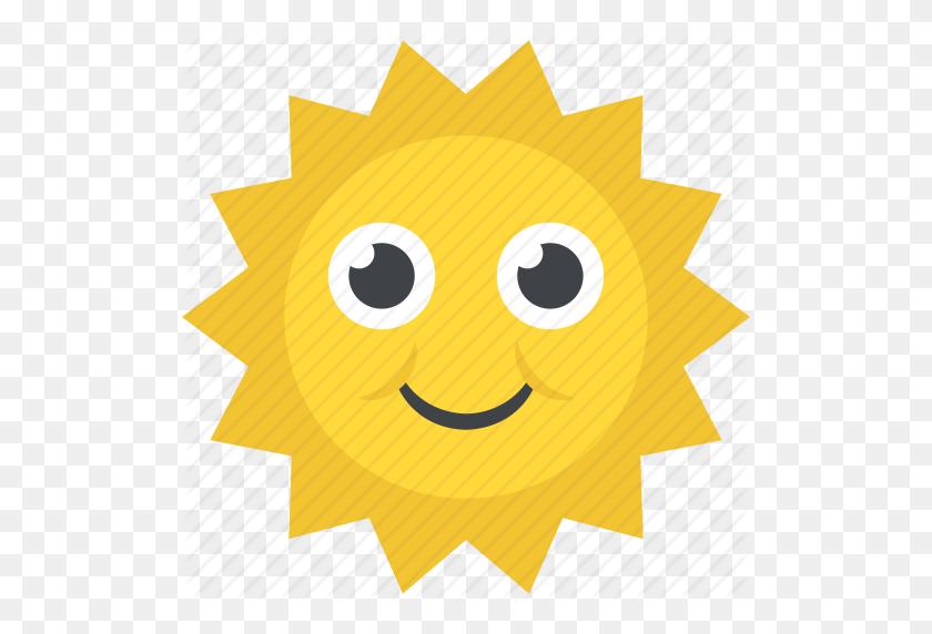 Cartoon Sun, Smiling Sun, Summer Season, Weather, Welcome Spring Icon - Sun Cartoon PNG