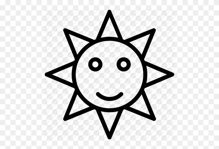 Cartoon Sun, Sun, Sun Rays, Sunlight, Sunshine Icon - Sunrays PNG