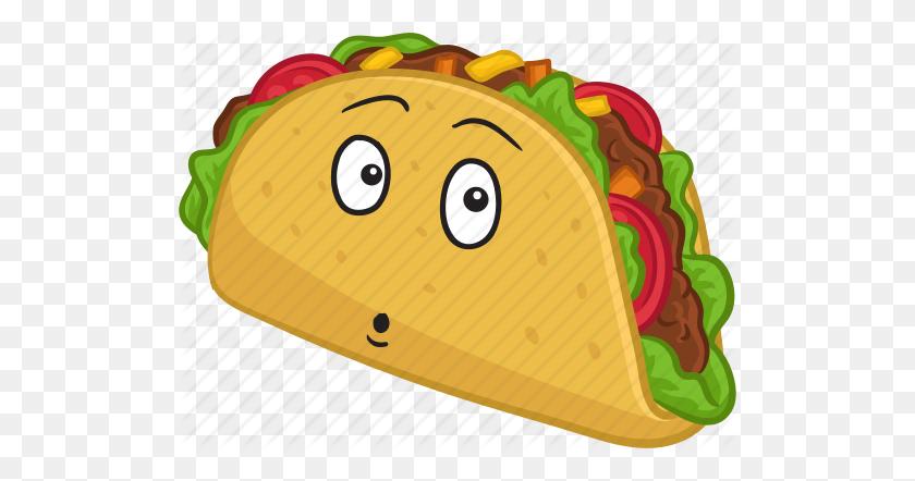 Cartoon Taco Taco Mae Clip Art - Taco Border Clipart