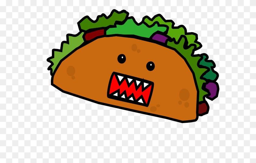 Cartoon Taco Taco Mae Clip Art - Taco Clipart PNG