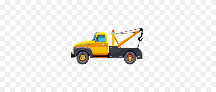 Cartoon Tow Truck Clip Art Clip Art - Tow Truck Clipart