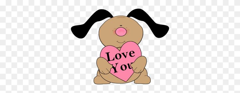 Cartoon Valentine Cliparts - Disney Valentine Clipart