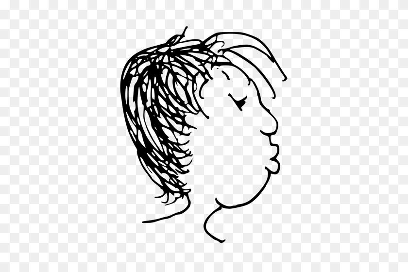 Cartoon Vector Image Of Head - Frankenstein Head Clipart