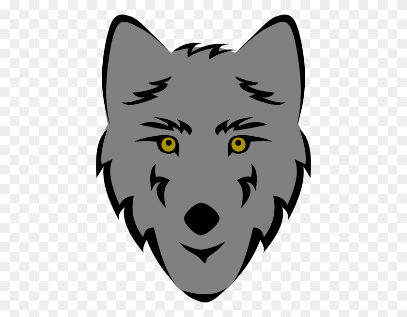 Cartoon Wolf Clipart - Wolfpack Clipart