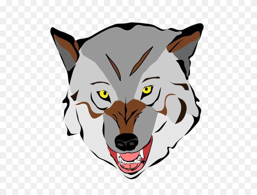 Cartoon Wolf Clipart - Little Red Riding Hood Wolf Clipart