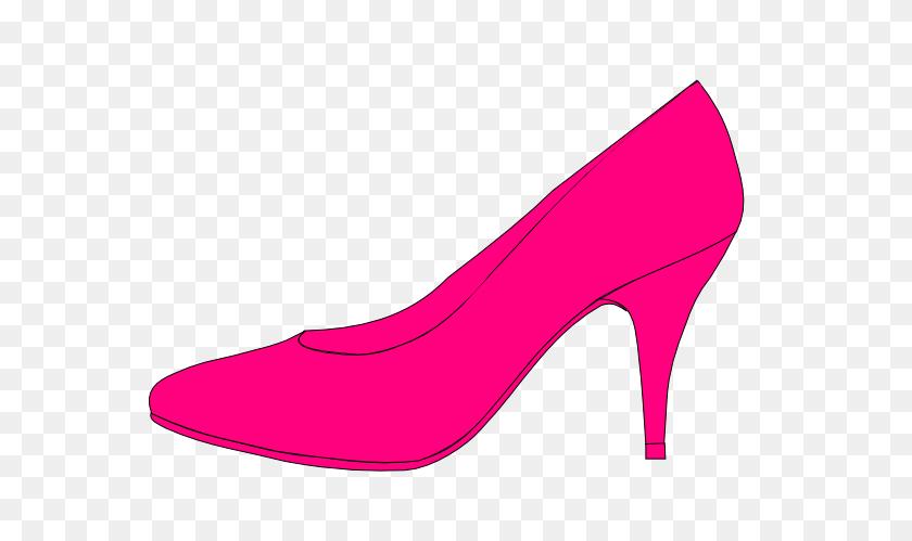 Cartoons Pumps Shoes Pink Shoe Clip Art - Pump Clipart