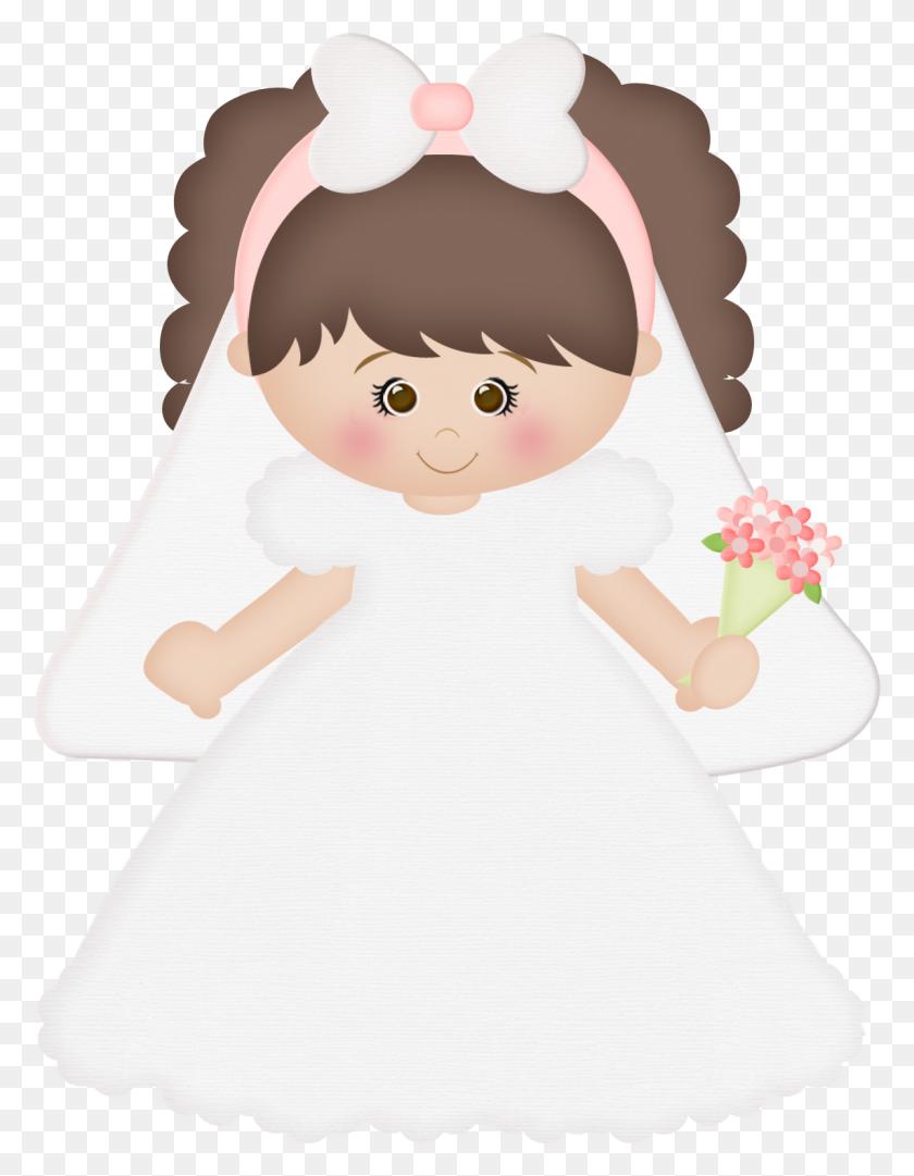 Casamento Cards Wedding, Bride And Communion - Bride And Groom Clipart