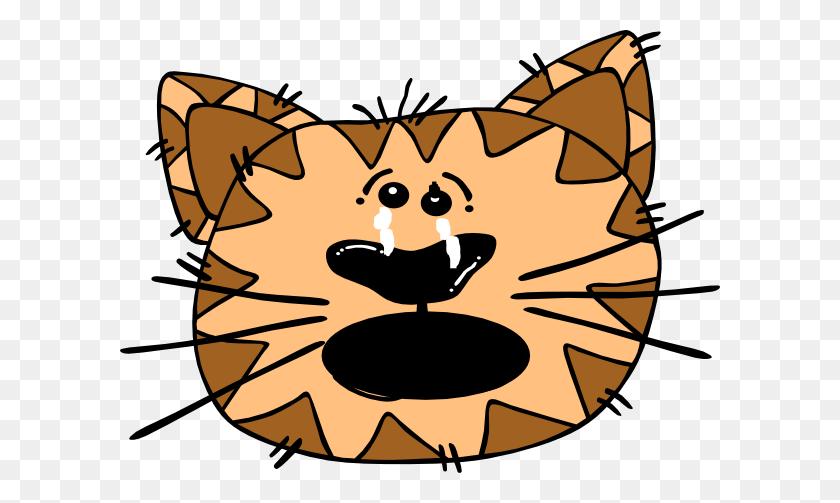 600x443 Cat Clip Art - Sad Cat Clipart