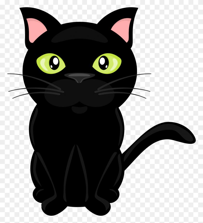 1371x1522 Cat Clipart Transparent Background - Sad Cat Clipart