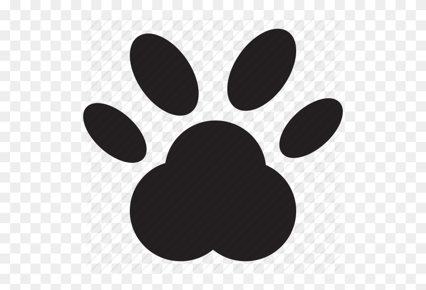 Cat Feline' - Puppy Paw Print Clip Art