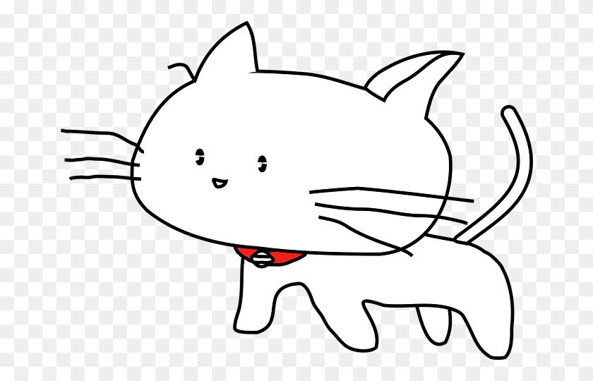 671x480 Cat Pet Animal Cute Cat Cat Cat Cat C Line Art For Embroidery - Black And White Clipart Cat