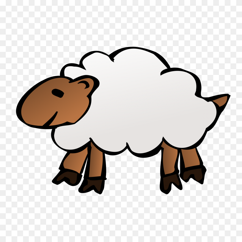 Category Clip Art - Sheep Clipart Outline