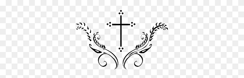 Catholic Cross Clipart First Communion Cross - Orthodox Cross Clipart