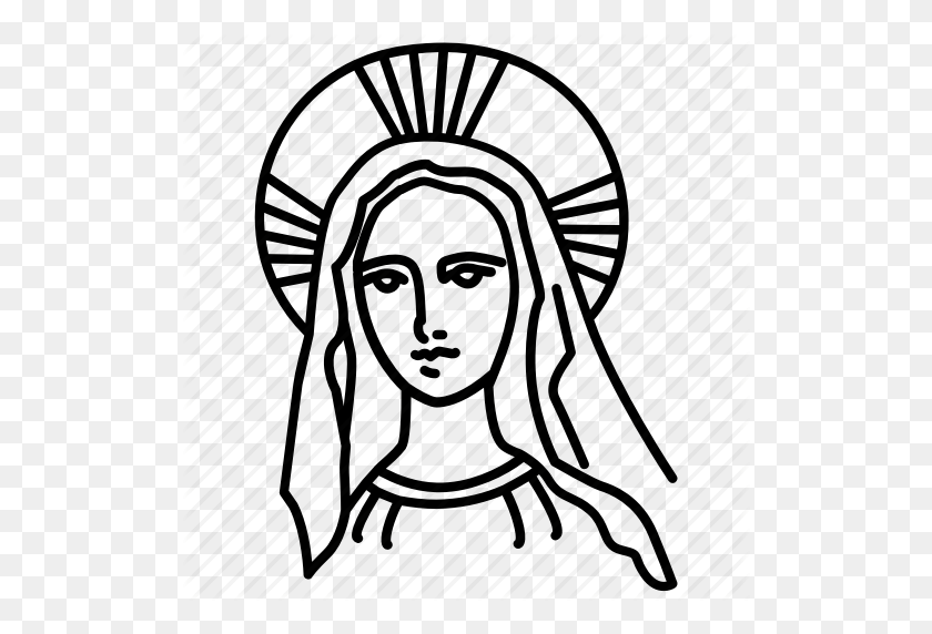 Catholic, Madonna, Maria, Marie, Mary, Saint, Virgn - Madonna PNG