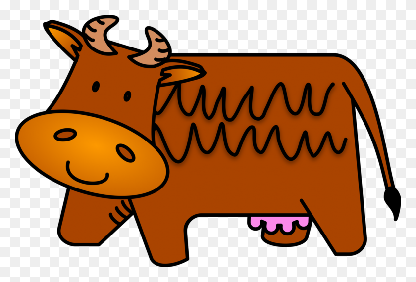 Cattle Cartoon Download - Milking A Cow Clipart