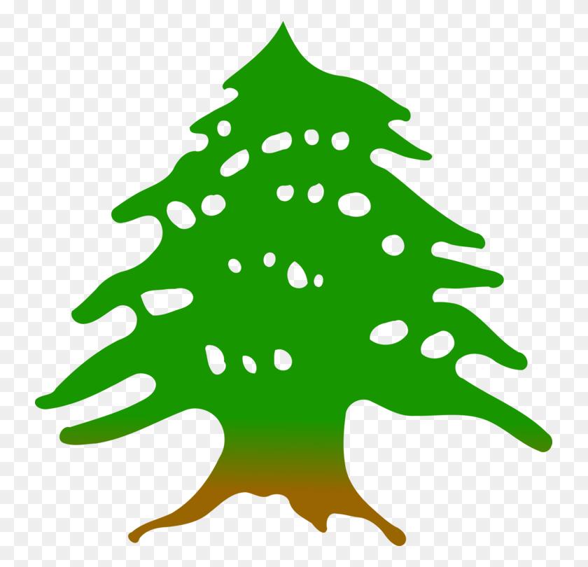 Cedrus Libani Tree Flag Of Lebanon Austrocedrus - Cedar Tree Clipart