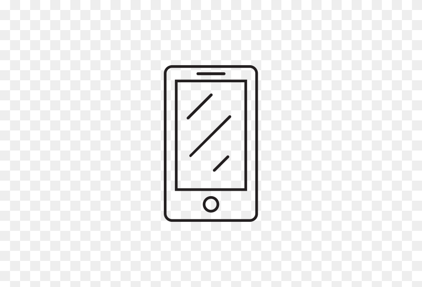 Cell Phone, Device, Ios, Iphone, Mobile Phone, Phone Icon - Cell Phone PNG