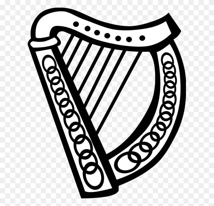 Celtic Harp Celtic Music Musical Instruments Celtic Knot Free - Celtic Knot Clipart