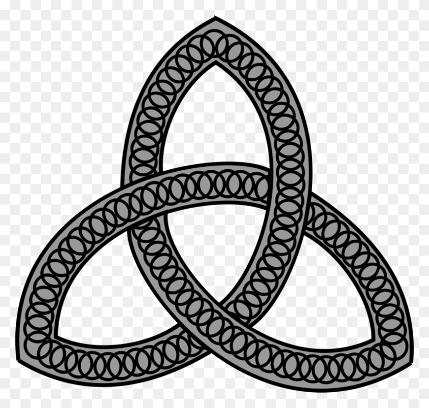 Celtic Knot Celts Symbol Triquetra Celtic Cross - Celtic Knotwork Clipart
