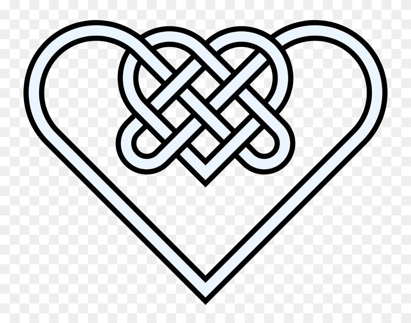 Celtic Knot Clipart Celtic Symbol - Celtic Cross Clipart Black And White