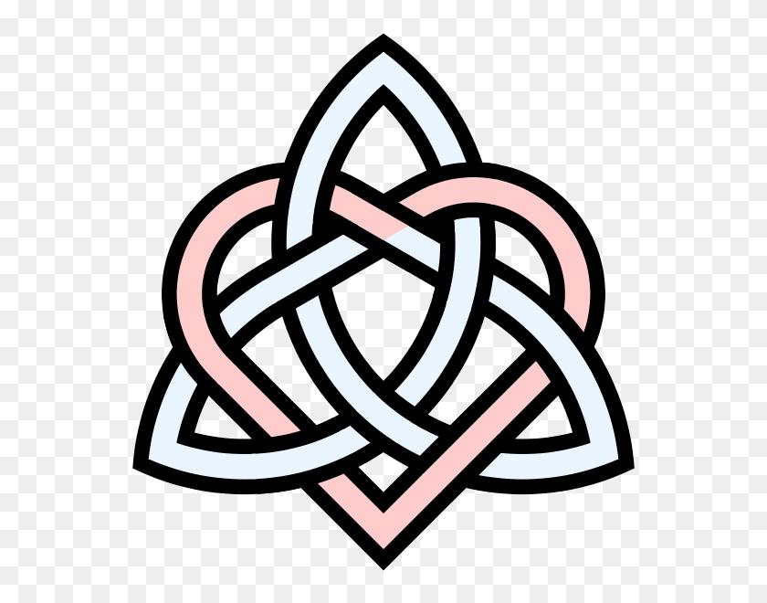 Celtic Knot Clipart Triquetra - Celtic Knotwork Clipart