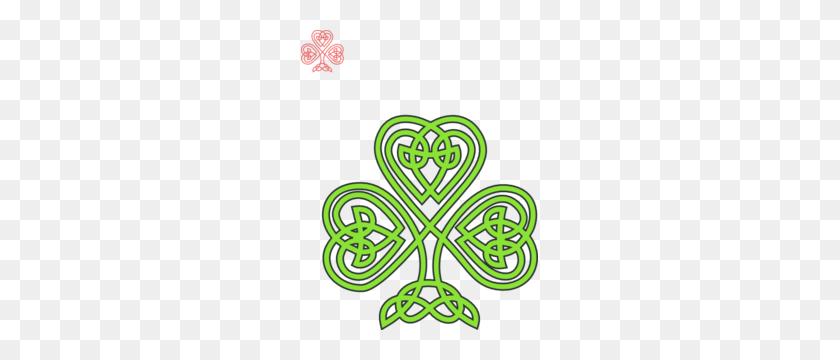 Celtic Shamrock Clip Art - Shamrock Border Clipart