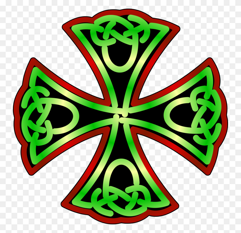 Celts Sticker Celtic Cross Car Celtic Knot - Celtic Cross PNG