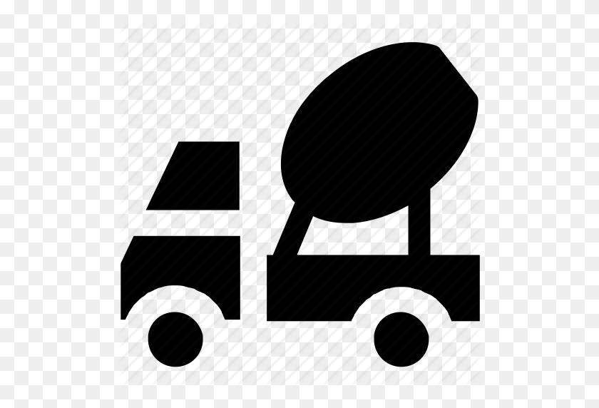 Cement Truck, Cement Vehicle, Concrete, Concrete Carrier, Concrete - Concrete PNG