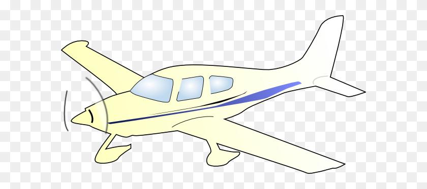 Cessna Plane Clip Art - Propeller Plane Clipart