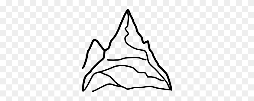 Chain Of Mountains Png, Clip Art For Web - Mountains Clipart PNG