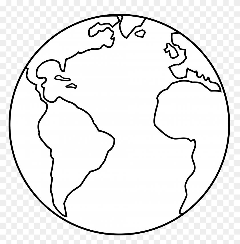 Chalk Drawn Globe Chalk Drawn Vector Illustration Of Globe - Chalk Drawing Clipart