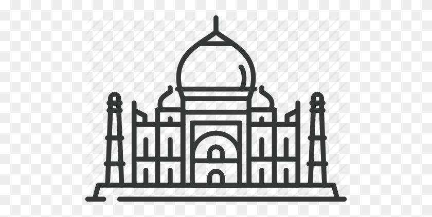 512x363 Chapel, Church, India, Mosque, Taj Mahal, Temple, Travel Icon - Taj Mahal Clipart