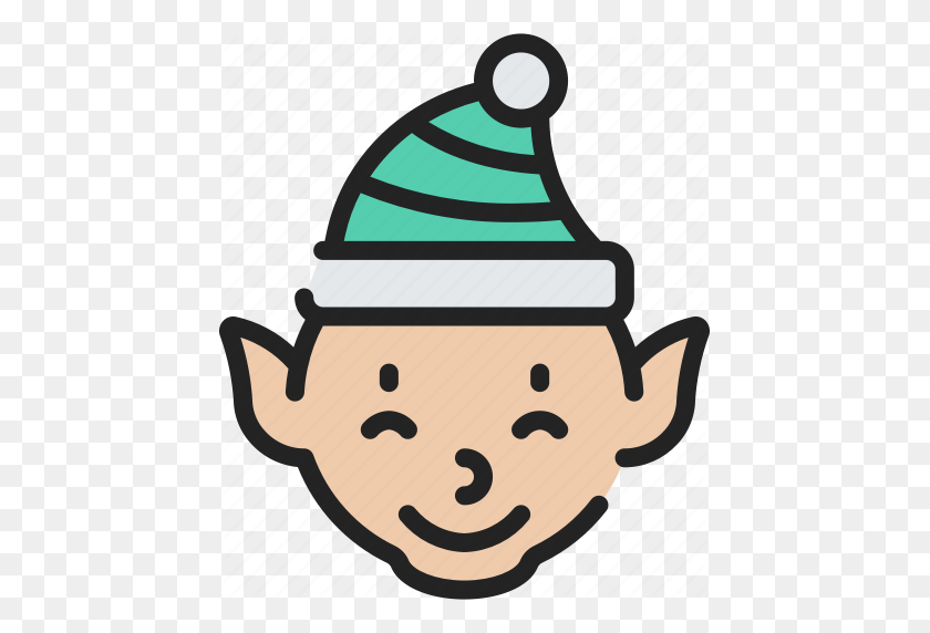 Character, Christmas, December, Elf, Holidays Icon - Clip Art December