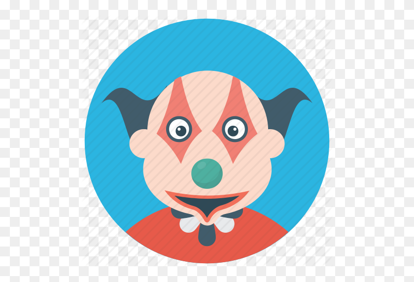 Character Clown, Circus Joker, Devil Clown, Joker, Scary Clown Icon - Scary Clown PNG