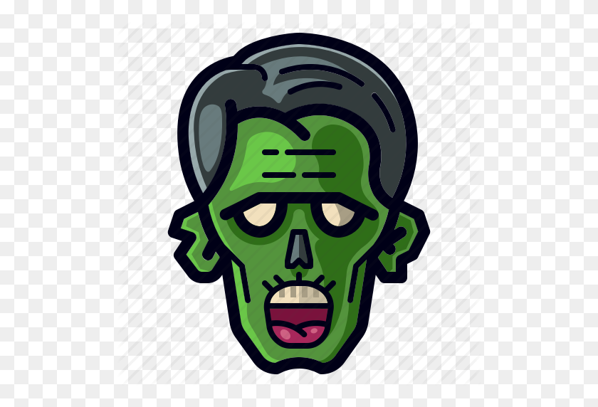 Character Cosplay Dead Halloween Holiday Monster Zombie Icon