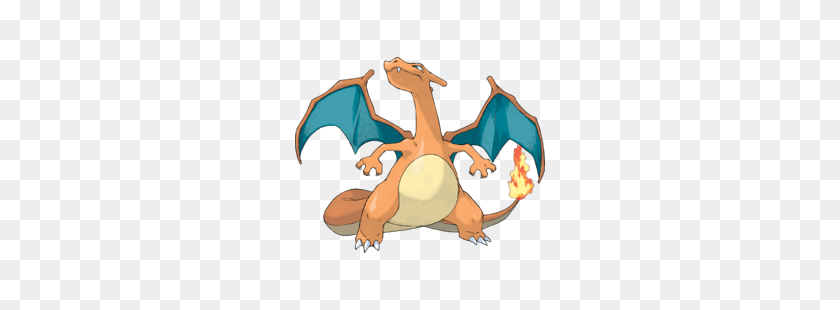 Charizard - Fire Breath PNG