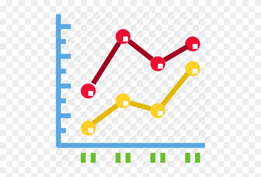 Chart, Data, Diagram, Graph, Line Icon - Line Graph PNG