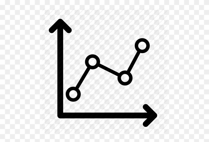 Charts, Graphs, Growth, Line Chart, Line Graph, Trend, Trend - Line Graph Clipart