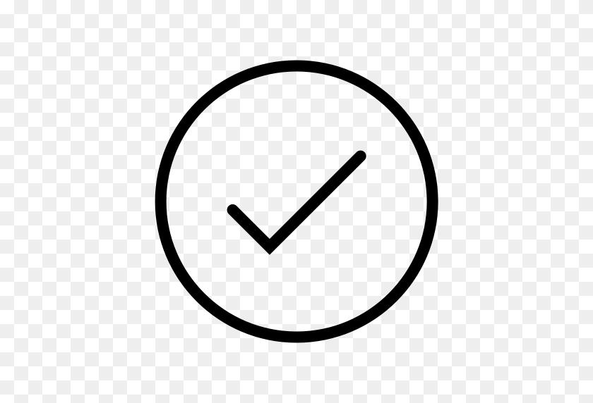 Check, Checkmark, Circle Icon - White Checkmark PNG