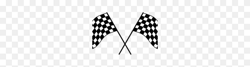 Racing Flag Free Png Image - Transparent Background Checkered Flag Clipart,  Png Download - kindpng